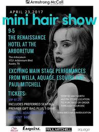 armstrong mccall fall hairshow mini hair show general admission april 23 2017 armstrong mccall