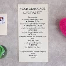 personalised marriage survival wedding gift survival horse