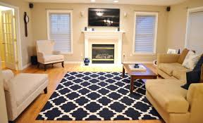 navy white area rug blue rugs for living room interior design and