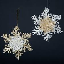 snowflake ornaments the mouse