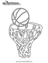 basketball free printable coloring pages coloring home