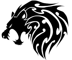tribal lion head by sparkythebadger on deviantart