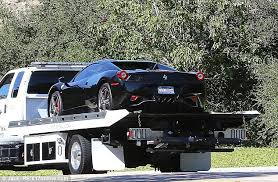 justin bieber changes the colour of his infamous ferrari for 3rd