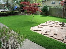 Landscape Mounds Front Yard - turf grass blue mounds wisconsin roof top small backyard ideas