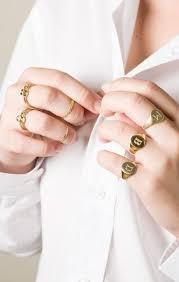 Monogram Rings Gold 26 Best Signet Ring Images On Pinterest Signet Ring Jewellery