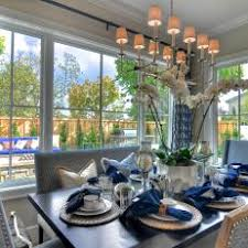 Dining Room Place Settings Blue Traditional Dining Room Photos Hgtv