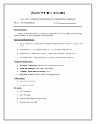Sample Resume Format Best by Resume Format And Examples Sample Resume123