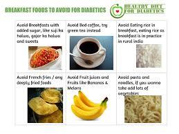 breakfast menu for diabetics 10 foods diabetics shouldn t eat for breakfast