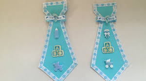 baby shower cardstock father to be tie youtube