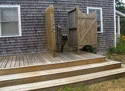 Simple Outdoor Showers - outdoor showers and spa tubs raftertales home improvement made