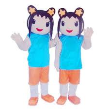 ni hao kai lan kai lan mascot costume party 1 pc mascot costumes