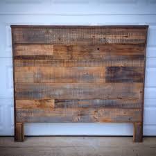 Headboard Ideas Wood by Queen Headboard Made Out Of Rustic Cedar Barn Wood U2026 Pinteres U2026