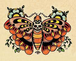 14 best sugar skull butterfly tattoo designs images on pinterest