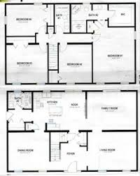 two story house plan 1970s split level house plans split level house plan 26040sd