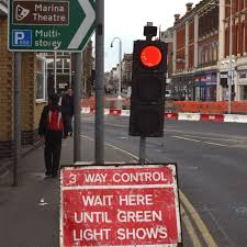 Traffic Light Order Traffic Order Imposed To Help Solve Lowestoft Roadwork Congestion