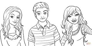 sam and cat coloring pages coloring page for kids