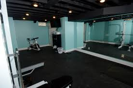 Home Gym Studio Design Basement Renovations To Bring The Kids Home Njw Construction
