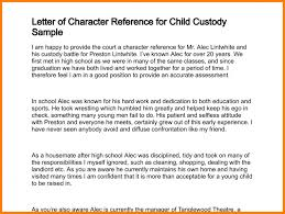 sample character reference letter for court child deboline com