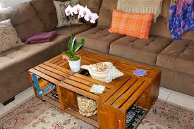 How To Make Wine Crate Coffee Table - coffee table wine crateffee table plans diy instructions vintage