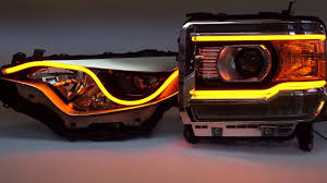 sequential switchback drl flexible led headlight strips u2022 by led