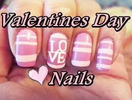 valentines day love nails youtube
