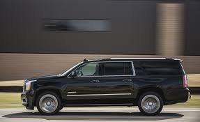 gmc yukon trunk space 2017 gmc yukon yukon xl in depth model review car and driver