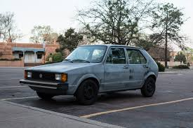 subaru justy stance the street peep 1981 volkswagen rabbit