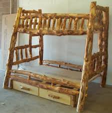 Plans For Building Log Bunk B by 45 Best Rustic Furniture Images On Pinterest Log Furniture Logs