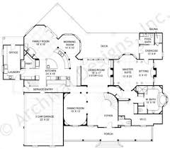 Colonial Floor Plans Anderson Estate Traditional House Plan Luxury Floor Plan