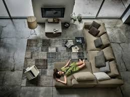 canape grand angle brico canape divan grand angle moderne luxe gris vert kaki sejour