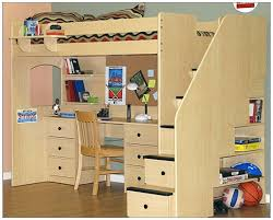 Free Loft Bed Plans Full by Free Loft Bed With Desk Plans 17586