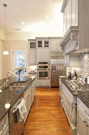 White Luxury Kitchen Designs Gallery Wooden Countertop
