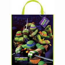 large plastic teenage mutant ninja turtles favor bag 13