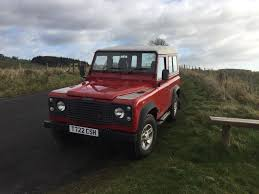 land rover burgundy 2000 land rover defender 90 td5 pickup in hexham northumberland
