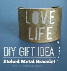 gift ideas handmade engraved bracelet unexpected elegance