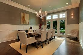 dining room with chandelier ideas modern formal dining room with chandelier