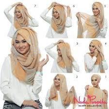 tutorial jilbab jilbab 124 best hijab tutorials images on pinterest veil hijab outfit