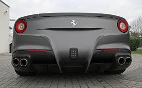 Ferrari F12 Matte Black - cam shaft custom f12berlinetta based on ferrari f12 berlinetta