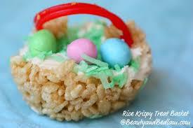 best easter basket rice krispie easter baskets easter basket treats