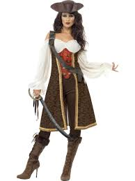 spartacus halloween costume leather look pirate hat brown 25530 6 00 fancy dress