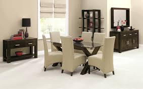 Glass Dining Table 6 Chairs Dining Room Furniture Furniture Store In Leicester World Of