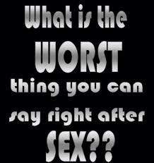 Black Sex Memes - what is the worst thing you can say after sex the memes factory