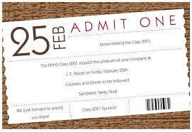 class reunion invitations templates eliolera com
