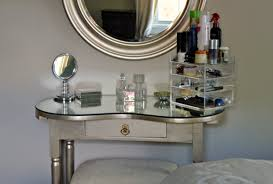 Antique Vanity With Mirror Sensing Serendipity Diy Upcycled Antique Vanity With Metallic Paint