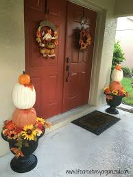 decorating your front porch for fall u2013 sweet humble home