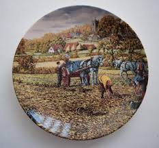 danbury mint the farm year wedgwood collectors plate series by
