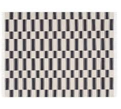 Stripe Indoor Outdoor Rug The Emily Meritt Ticking Stripe Indoor Outdoor Rug Pottery Barn