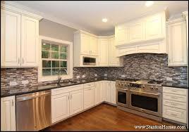 Range Hood Backsplash by Popular Tile Backsplash Styles Paint Tones And Cabinet Colors