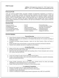 accounting resume templates accounting resume template