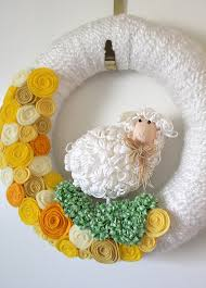 Easter Sheep Decorations by